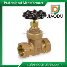 Durable hot selling long stem brass yoke nut gate valve