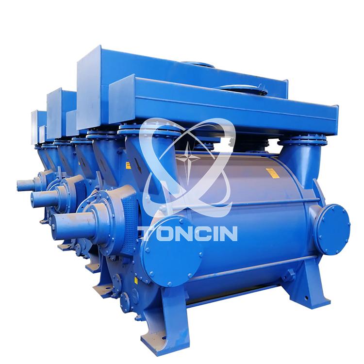 El aspirador de aire de la bomba de vacío del anillo de agua de la serie 2BE se utiliza en alimentos y metalurgia