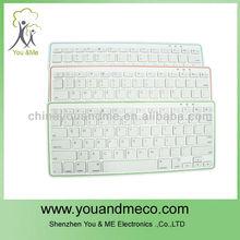 nuevo diseño bluetooth inalámbrico de teclado para el teclado ipad