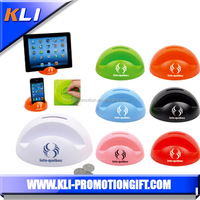 Cute plastic cell phone holder with money box