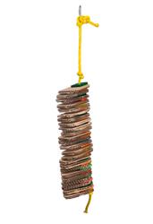 Spiral Shredding Slice Paper Card Bird Toy