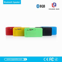 New FM Radio speaker,mini subwoofer speaker,portable wireless bluetooth loudspeaker with 3.5mm audio