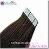 New style top selling Silky straight remy Highly Qualified Remy Tape Hair Extentions