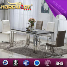 Canada famous design table marble inlay dinning table