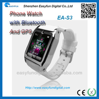 Quadband Multi-function touch screen phone watch