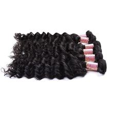 Hot Sale 100% Deep Wave Indian Remy Wavy Hair ,Cheap And Top Quality100% Indian Human Hair Bulk