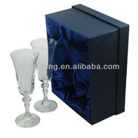 cardboard gift boxes for champagne glasses