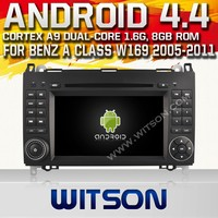 WITSON ANDROID 4.4 DVD HEAD UNIT FOR MERCEDES-BENZ B-CLASS W245 2009-2011 WITH RAM 8GB FLASH BLUETOOTH STEERING WHEEL