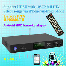New style Cheapest Full HDD jukebox karaoke machine ,USB add songs,build-in AGC/AVC