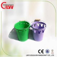Alibaba China metal iron tin bucket, kids toys, flower pots