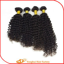 100% Virgin Brazilain Hair Yonghui Hair Wholesale Curly Indian Humanhair Extensions No Sheeding No Tangle