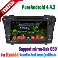 "2011-2012 factory 7"" HD Touch screen 2 din hyundai i40 car gps navigation system"