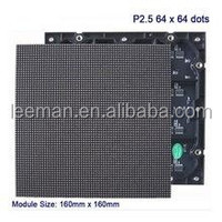 Leeman hot-sale on market p2.5mm xxx video tv video wall p1.5 led display screen module p2.5 indoor smd led screen
