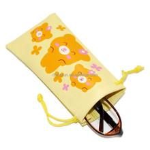 Hot sale logo printed microfiber sunglasses bag