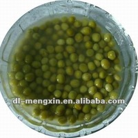 Canned sweet green peas 400g from fresh materials