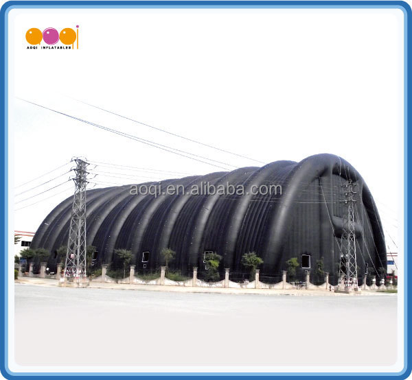 Guangzhou AOQI big discount superior quality Giant Sewed Inflatable Tent for sale