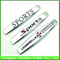 Custom ABS car badges and Chrome auto emblems, Customized emblems car badge logo