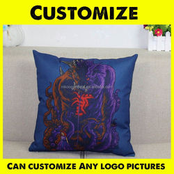 Wholesale Letter Design Printing Cushion Cover,Plain Canvas Pillow Cases,Decorative Throw Pillow Covers