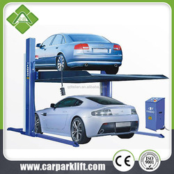 Two Post Design and DOUBLE HYDRAULIC CE Certification Two post car lift