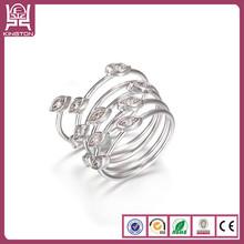 value plata 925 al por mayor pure silver ring