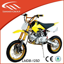 125cc motorcycle, dirt bike type with advanced configuration