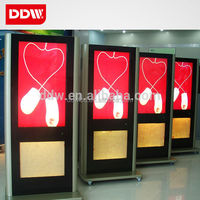 Custom Wall Mount And Floor Stand 15 19  46  46  42  46  55  65 Inch Android Wifi 3G Lcd Digital Signage Player DDW-AD4601SN