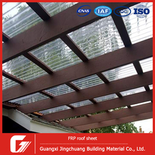 Corrugated Fiberglass FRP Skylite Sheet Panel Roof Tile Roofing