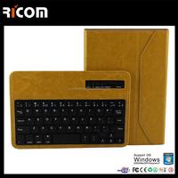 "8"" tablet case for samsung galaxy,8 inch tablet case for acer,13.3inch tablet pc leather keyboard case--BK513B--Shenzhen Ricom"