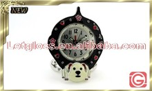 2015 zinc alloy dog shaped classical alarm Clock