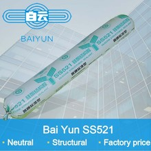 non-corrosive silicon structural sealant for structural glazing with high-temp performance
