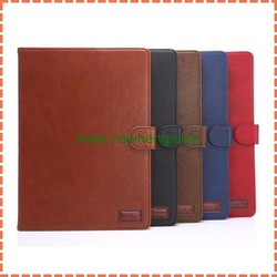 retro flip leather cover for iPad air, stand leather case for ipad air2