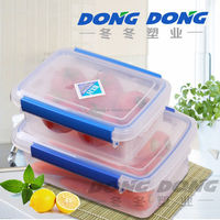 factory promotion price trade assurance square thermo food container