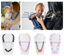 Gold supplier china silicone beads necklace jewellery
