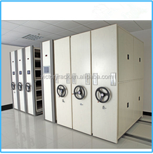 save space bank metal shelving File Compactor Government Mobile Storage suppliers