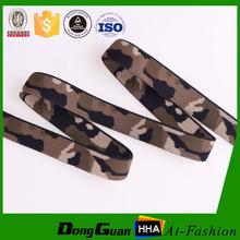 High Tenacity Military Jacquard Polyester Elastic Webbing