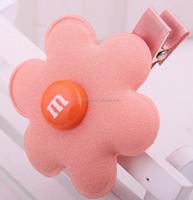 Random color flower Hair Clips Slides Girls Cheap Kids Baby Accessories
