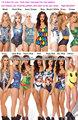 Las mujeres 2014 de una pieza atractivo del traje de baño de Monokini del traje de baño bikini con estilo del patrón de impresió