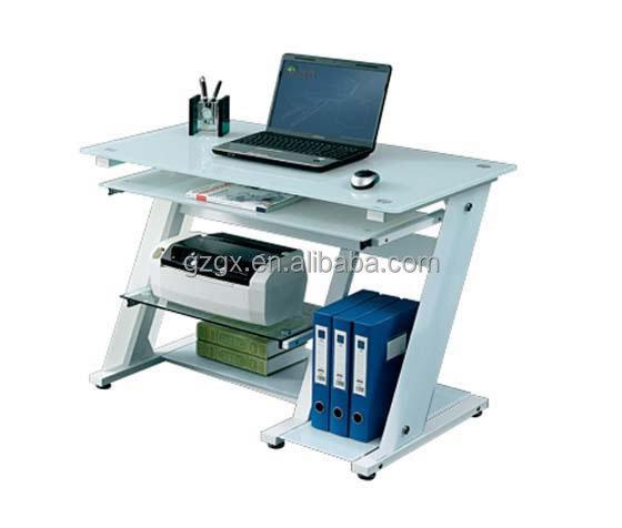 verre table d 39 ordinateur avec metal frame table pliante id de produit 60242501774. Black Bedroom Furniture Sets. Home Design Ideas