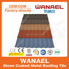 colorful stone coated galvanized steel roof truss, building material for house