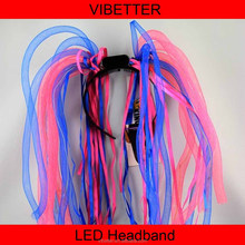 LH-001 Neon Rave Led Noodle Hair Band