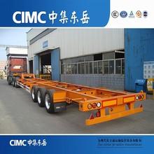 CIMC Skeletal Semi Trailer/3 Axle Semi Trailer/Container Locks