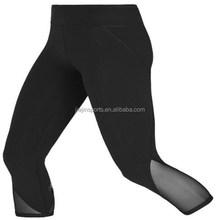 Wholesale yoga/gym/fitness ladies capri trousers