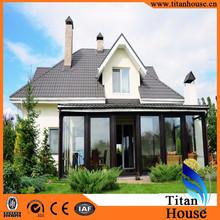 Free Landscape Design Luxury Light Steel Structure Prefab Villa