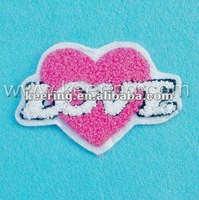 custom patches for clothes fabric sew on letters (WPH-055 Factory)