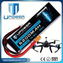 Upower durable li-polymer batteries lipo battery with MSDS UN38.3
