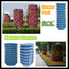 garden planters plastic stacking planters plastic gardening planters