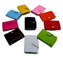 PU leather credit card holder wallet