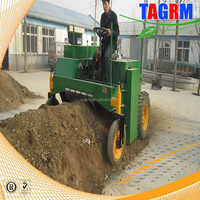 raw refuse windrow compost machine/waste dregs compost maker M2000 composting equipment