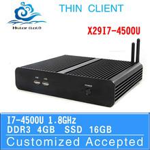 The cheapest notebook computer intel i7 4500u 4gb ram mini pc with wifi desktop computer Pc network terminal sharer
