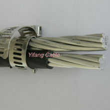 4AWG Aerial Twisted Cable ACSR Duplex Service Drop 0.6/1KV